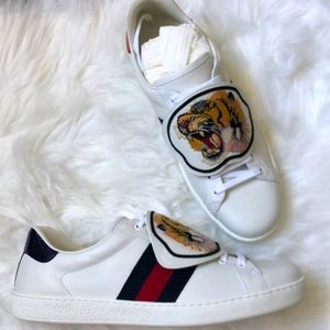 🆕 💯%Auth Gucci Sneakers Ace Gucci10 / US11